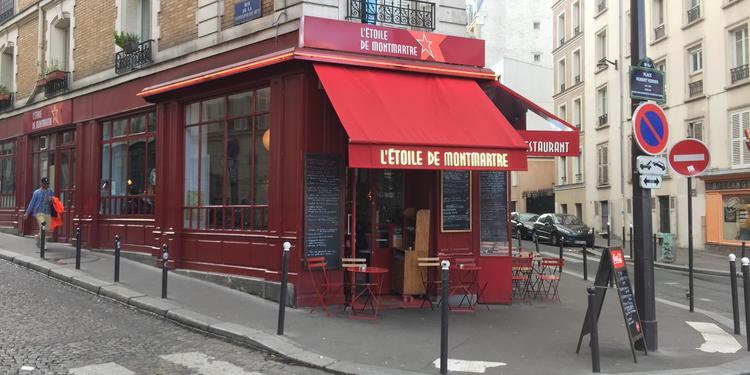L'étoile de Montmartre, Bar Paris Montmartre #0