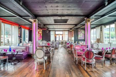 Le Café Barge : Privatisation complète, Salle de location Paris Quinze-Vingts #0