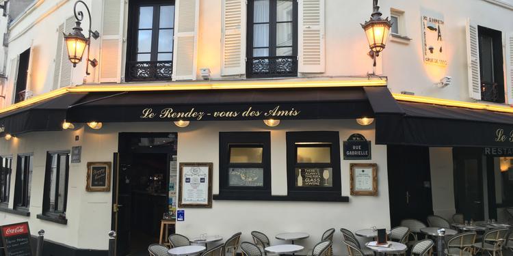 Le Rendez-vous des Amis, Bar Paris Montmartre #0