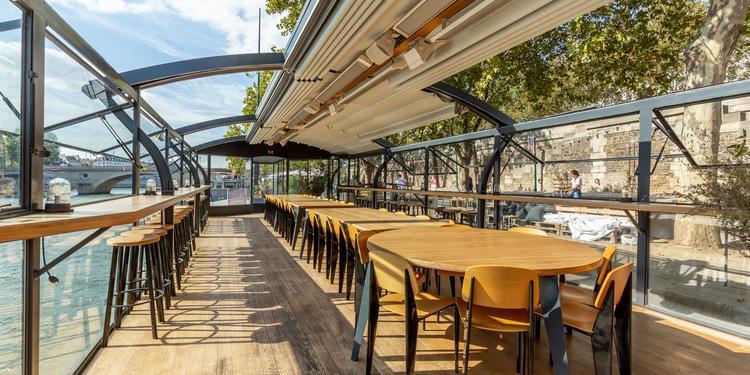 Les Maquereaux - Pont supérieur, Restaurant Paris Notre Dame  #0
