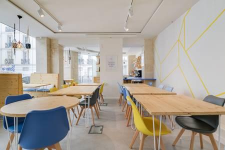 La Galerie Cafe Coworking, Salle de location Paris Batignolles #0