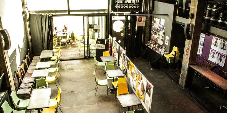 Le Point Éphémère - Salle d'exposition, Salle de location Paris Stalingrad #4