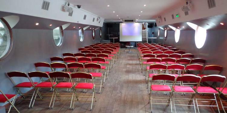 La Péniche Henjo, Salle de location Paris Latin #0
