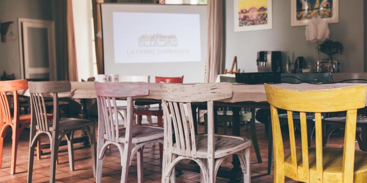 La Ferme d'Armenon : La Shadoks, Salle de location Les Molières Essonne #0