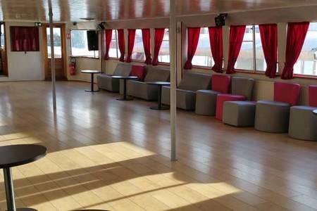 La Péniche l'Evenement, Salle de location Paris Saint victor  #0