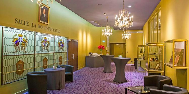 L'Hôtel des Arts et Métiers: Salon La Rochefoucauld, Salle de location Paris Iéna #6