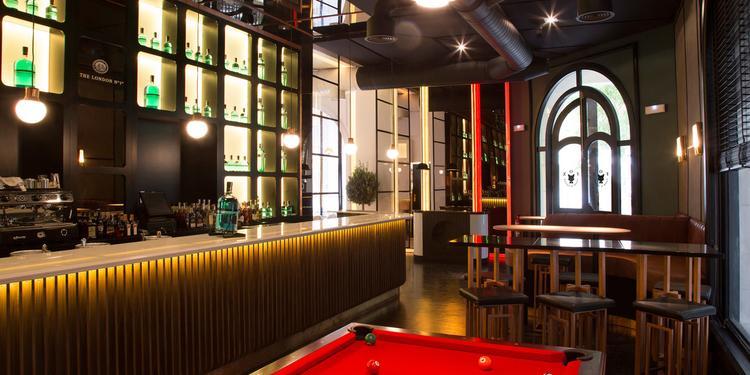 Fox, Restaurante Madrid Castellana #7