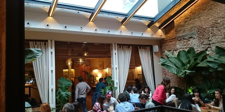 La Contraseña, Restaurante Madrid Ponzano #1