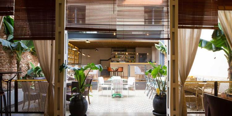 La Contraseña, Restaurante Madrid Ponzano #2