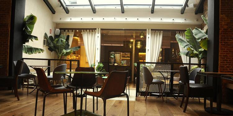 La Contraseña, Restaurante Madrid Ponzano #3