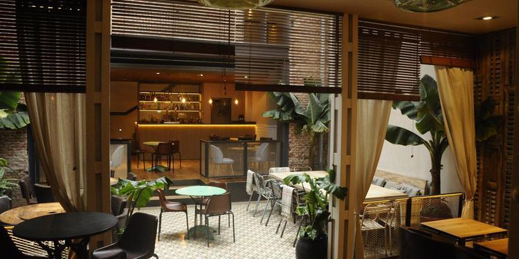 La Contraseña, Restaurante Madrid Ponzano #7