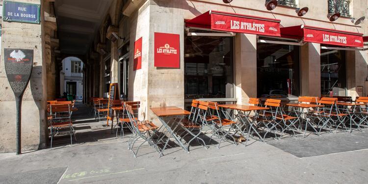 Les Athlètes, Bar Paris Bourse #0