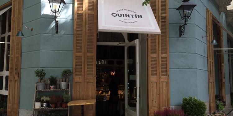 Quintín, Restaurante Madrid Barrio Salamanca #1