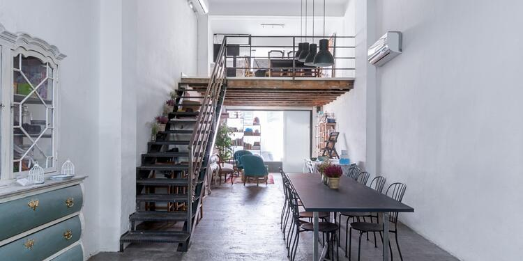 Asfy&Co, Sala de alquiler Madrid Ciudad Jardín #0
