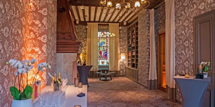 La Maison de la Recherche: La Bibliothèque, Salle de location Paris Saint Thomas d'Acquin #0