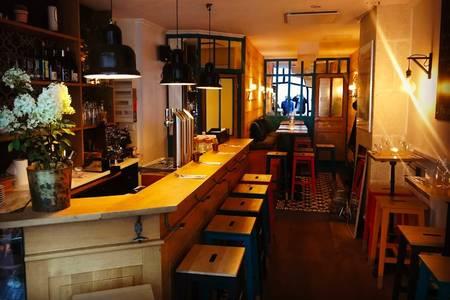 Cru Restaurant, Bar Paris Parmentier #0