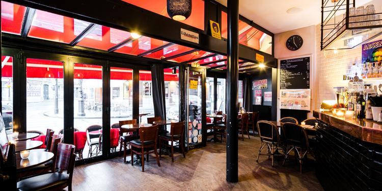 Le Bistrot à deux têtes, Bar Paris Notre-Dame-de-Lorette #0