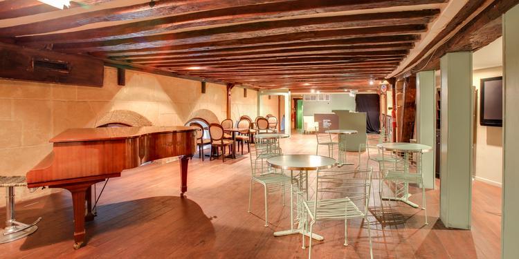 Le Théâtre du Gymnase : la Dédicace Café, Salle de location Paris Bonne Nouvelle #0