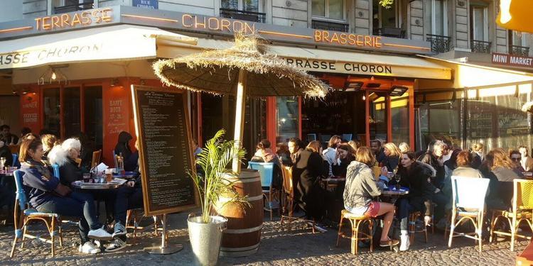 La Terrasse Choron, Bar Paris Faubourg-Montmartre #2