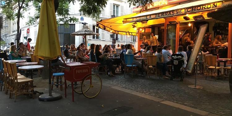La Terrasse Choron, Bar Paris Faubourg-Montmartre #5