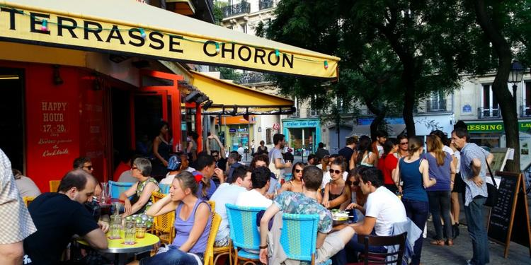La Terrasse Choron, Bar Paris Faubourg-Montmartre #1