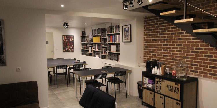 Comics Corner, Salle de location Paris Oberkampf #0