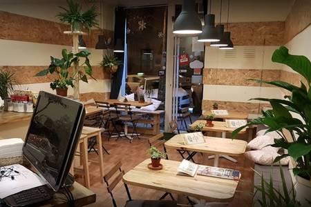 Campesino Burger, Bar Madrid Atocha #0