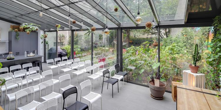 Garden House, Salle de location Paris Hopital Saint-Louis #0