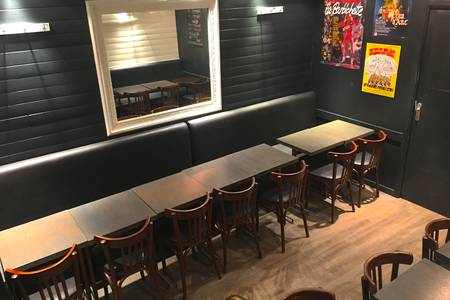 Monsieur Jacques, Bar Paris Grands Boulevards #0