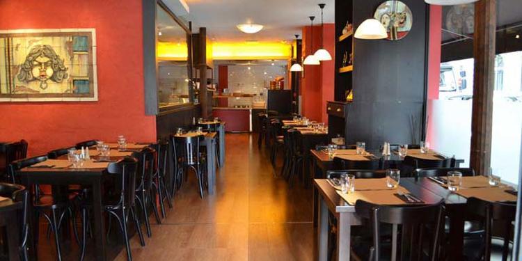 La pizzeria O'Scià, Restaurant Paris Le Peletier #0