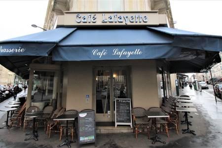 Le Café Lafayette, Bar Paris Gare du Nord #0