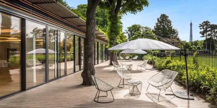 Le Pavillon Royal : le Salon Muette, Salle de location Paris Porte Dauphine  #0