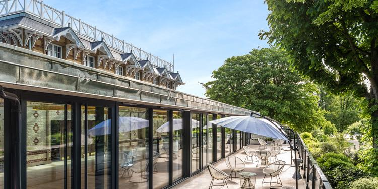 Le Pavillon Royal : le Salon Eiffel, Salle de location Paris Porte Dauphine  #0