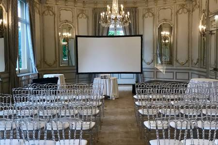 Le Pavillon Royal : le Salon Louis XV, Salle de location Paris Porte Dauphine  #0