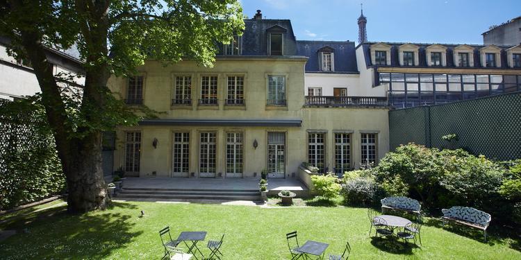 L'Hôtel Mona Bismarck : le rez-de-chaussée, Salle de location Paris Iéna #0