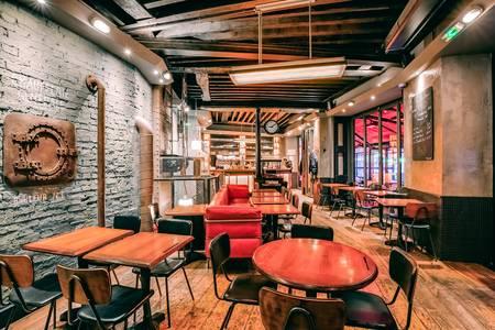 La Chaufferie, Restaurant Paris Magenta #0