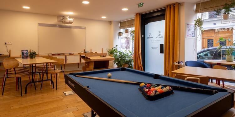 Anticafé Canal Saint-Martin - Escape Game, Salle de location Paris  #0