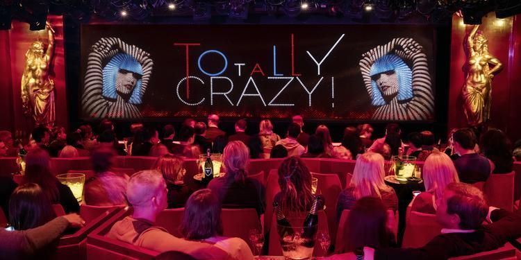 Le Crazy Horse, Salle de location Paris Champs-Elysées #0