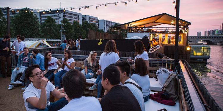 Le Petit Bain Rooftop, Salle de location Paris Bercy #0
