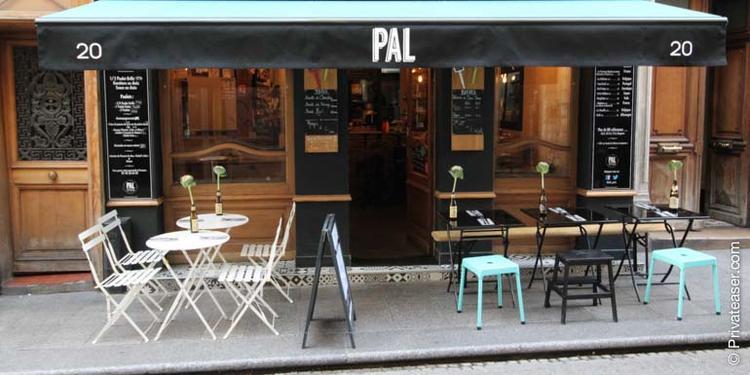 PAL, Bar Paris Etienne Marcel #1