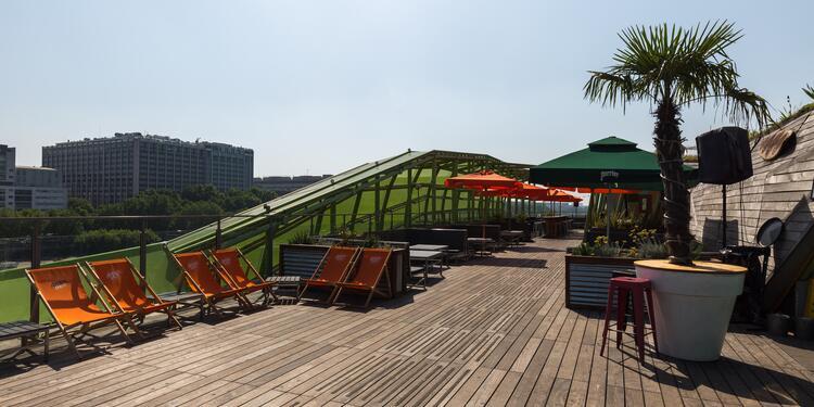 Le Café Oz Rooftop : Espace Terrasse, Salle de location Paris Austerlitz #0