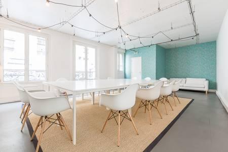 Be-Coworking La Jonquière : Espace Mandela, Salle de location Paris Épinettes #0