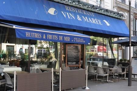 Vin & Marée Voltaire Nation, Restaurant Paris  #0
