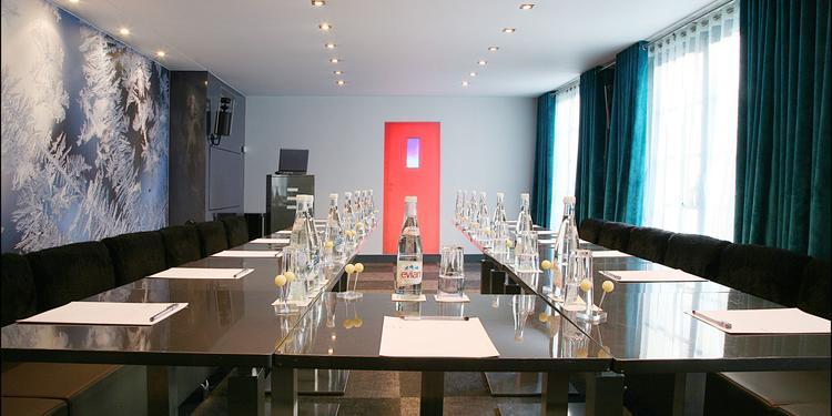 Le Kube Hôtel - Salon Bleu, Salle de location Paris La Chapelle #0