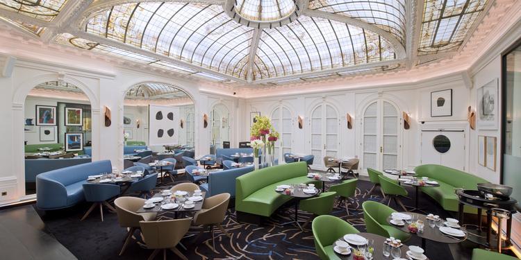 L'Hôtel Vernet ***** : Le Restaurant, Salle de location Paris Champs Elysées #0
