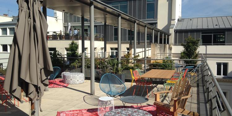 Nextdoor Saint Lazare : Rooftop, Salle de location Paris  #0