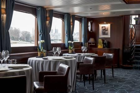 Les Yachts de Paris : Don Juan II, Restaurant Paris Arsenal #0