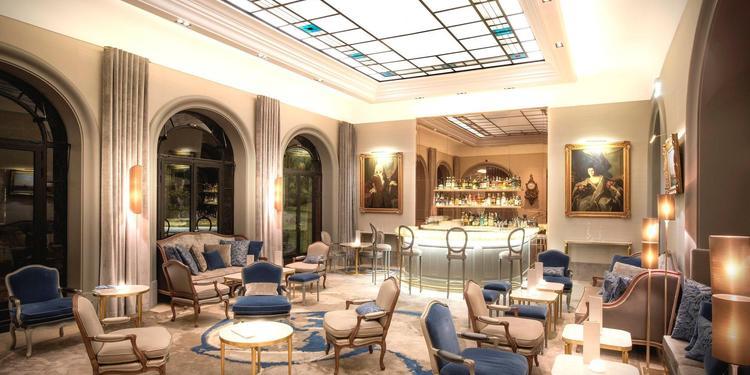Hôtel Lancaster Paris Champs Elysées : Salon Berri, Salle de location Paris Champs Élysées  #0