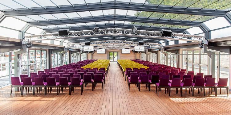 Les Yachts de Paris : les Salons Nework, Salle de location Paris Javel #0