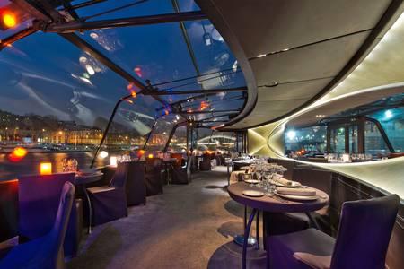 Les Bateaux parisiens : le Cristal II, Salle de location Paris Trocadéro #0